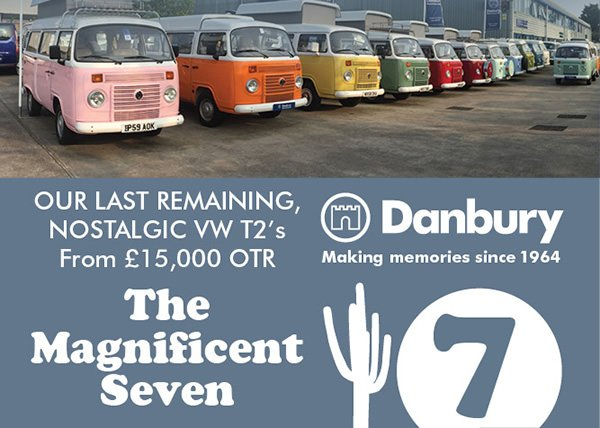 Danbury last remaining T2s ad